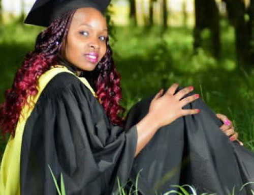 Anne Wangari Kinyanjui Graduant from University of Eldoret with Bsc.Entomology & Parasitology