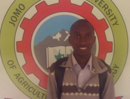 Daniel Kung'u a student in Kenyatta University of Agriculture and Technology taking Industrial Mathematics.